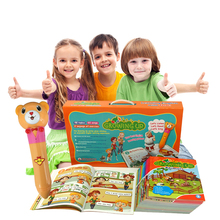 English Library Resource Children Speaking English Books with Interactive Reading Pen for Preschool to Primary School