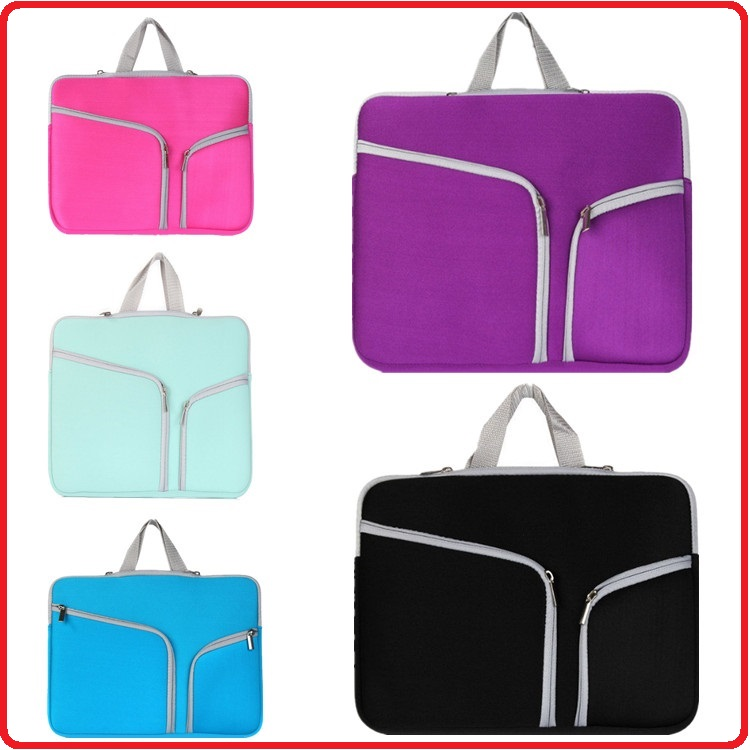 Customer 11 13 15 Inch New Design Durable Neoprene Zipper Laptop Bag