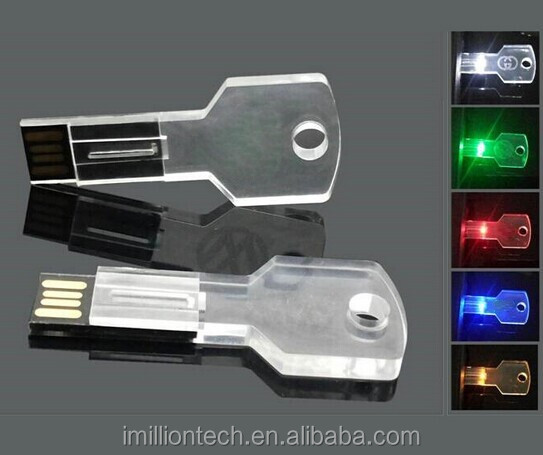 kristal glas led licht usb flash drive relatiegeschenken pen drive 4 8 16gb usb stick custom. Black Bedroom Furniture Sets. Home Design Ideas