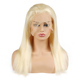 Wholesale 100% Virgin Brazilian Hair Half Wig Human Hair Blonde Half Wig