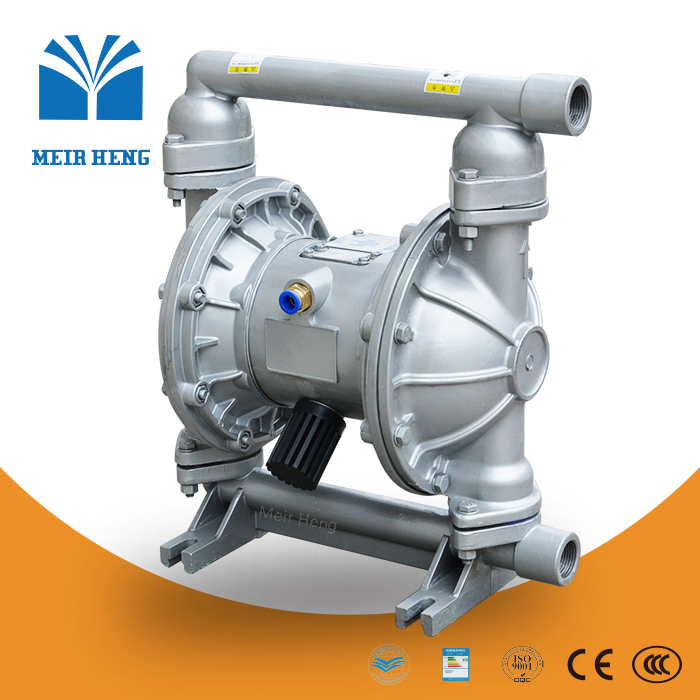 QBY PVDF lined acid/alkali/chemical air drive pump corrosion resistant pneumatic double diaphragm pump