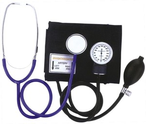 mercury stethoscope blood pressure monitor machine