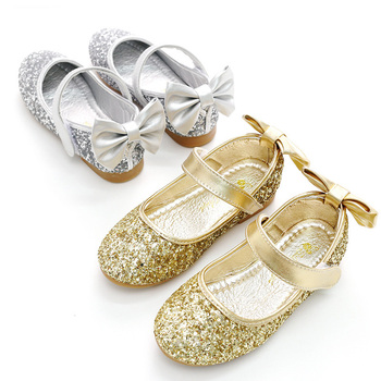 Hot Sale Flat Breathable Formal Princess Dancing Baby Kids Shoes For Girls f82cfb10c9dc