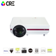 CRE projector X1500 1280x800 Smart Android Wifi Cinema USB HD Video WXGA LED HDMI VGA Support 1080P Home Theater Projector suppo