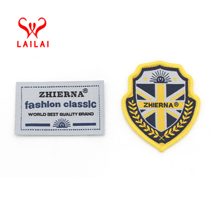 China oem design decorative 3d embroidered patch custom embroidery clothing rubber patches for clothing