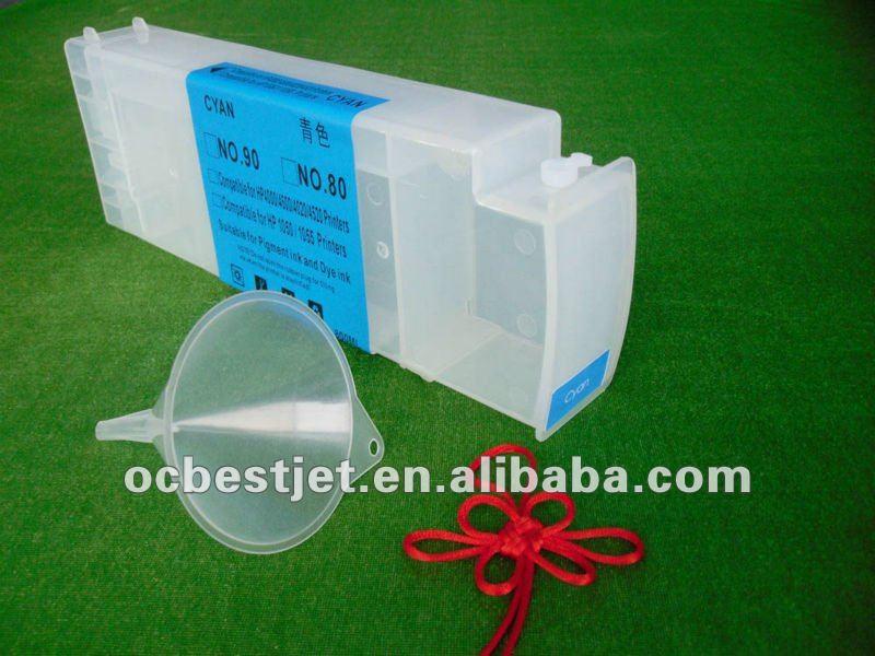 Ocbestjet Ciss Bulk Cartridge For 5000 5500 Hp Designjet Plotter ...