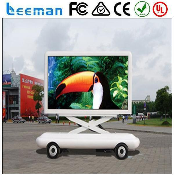 mobile billboard truck led Leeman 2015 led commercial advertising display