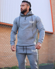 Anti-piling Sweatshirts Men Winter Sweatshirt Low Moq Wholesale Hoodie Sweatshirts Blank Warm Men Winter Pullover Hoodies