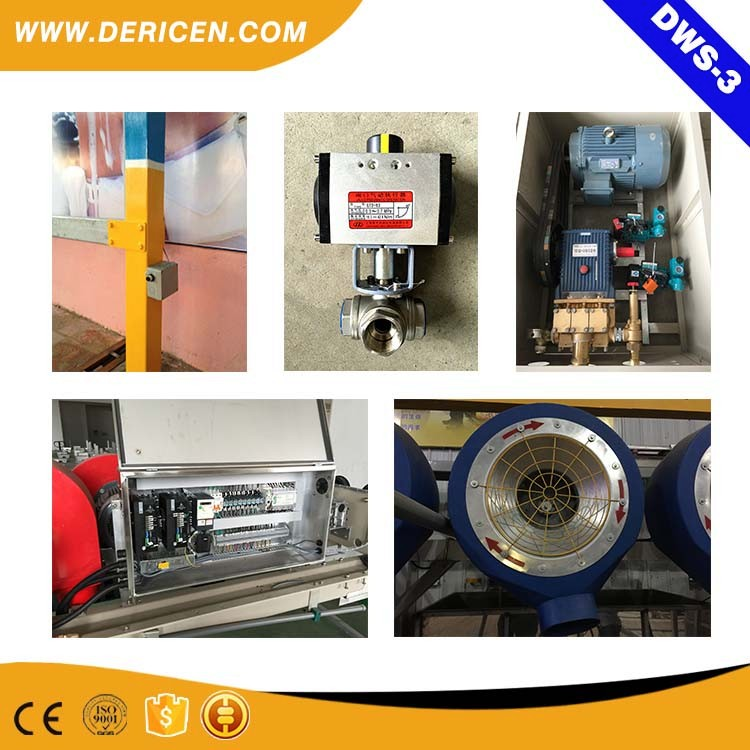 Dericen Dws3 Touchless Automatic Car Wash Machine With