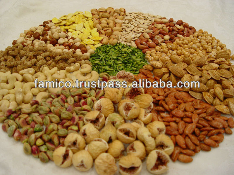 Iran Dried Fruits and nuts
