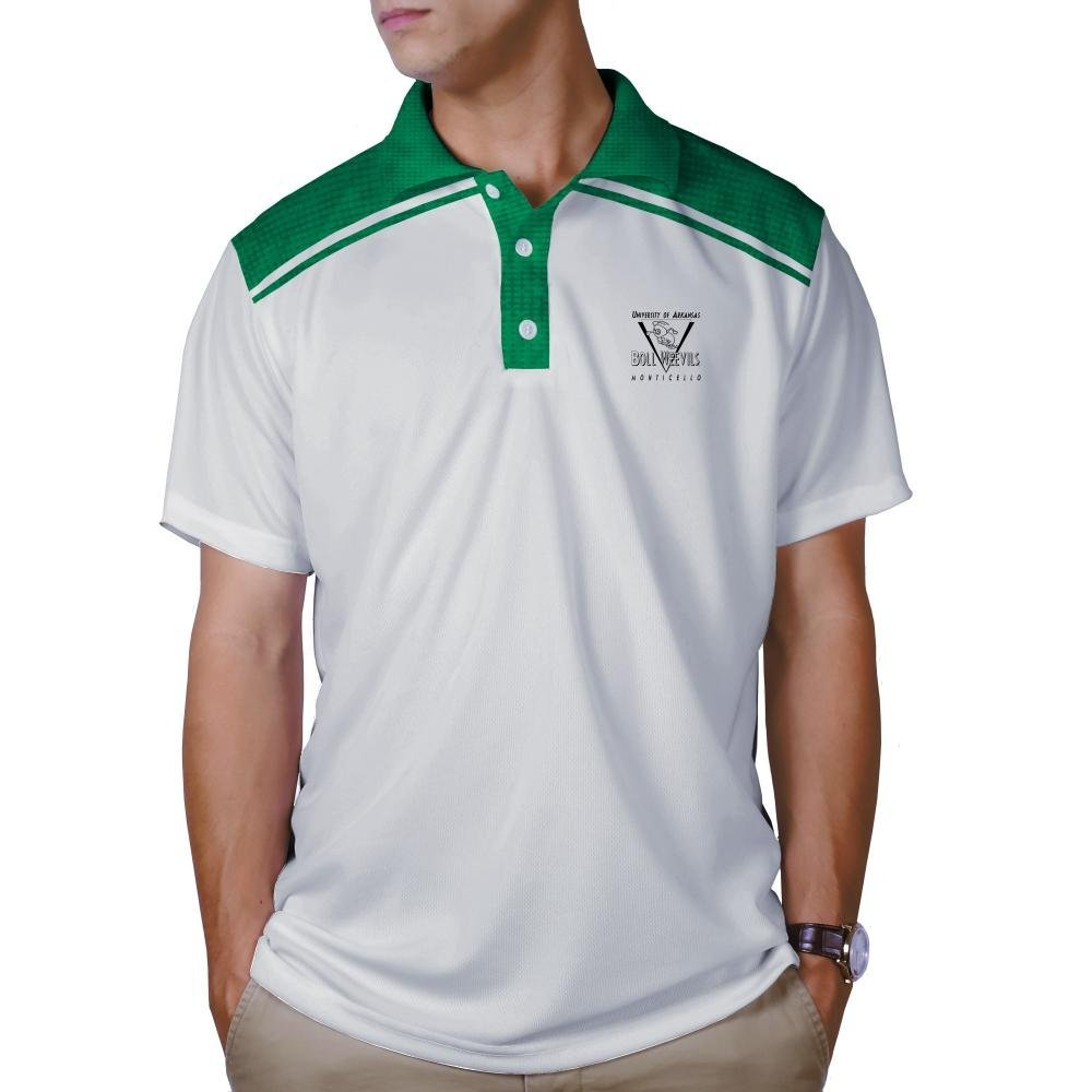 Arkansas Monticello Boll Weevils End Zone Performance Polo