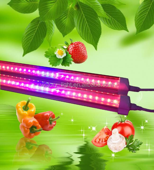 hydroponics growing system led grow light 1.2m 18w indoor led grow ligths for plants