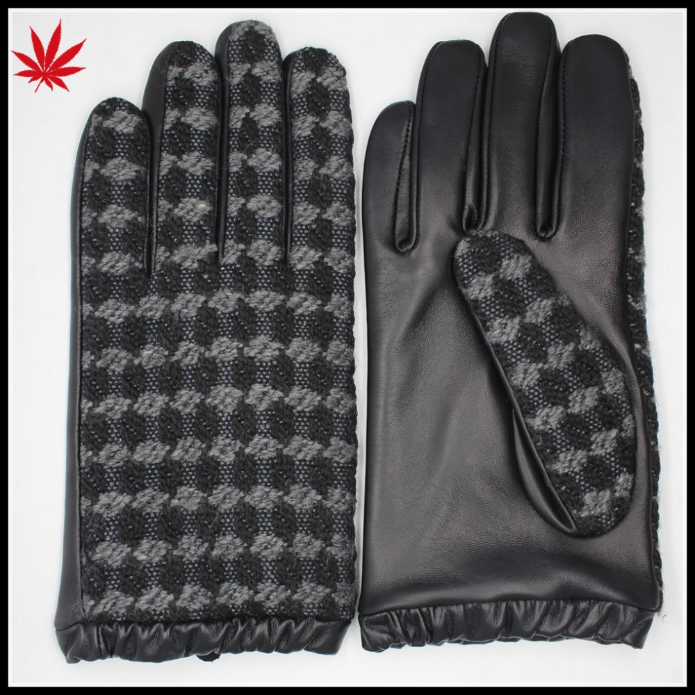 2017 the most popular Women's fabric and leather gloves