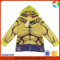 New fashion! Boys hoody autumn kid clothes for 110-150cm spider cartoon baby clothing wholesale casual child clothes (ulik-J002)