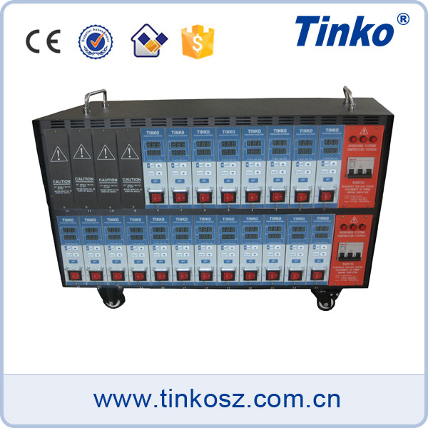 Tinko 20 poles industrial hot runner, hot manifold temperature instrument for plastic injection mould