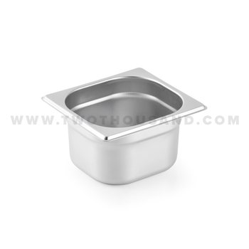 TT-816-4 1.6L 1/6X4'' Best Selling Stainless Steel GN Food Pan Tray