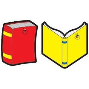 Carson Dellosa Die-Cut Shapes Books (5553)