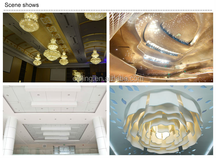 High quality fire rated gypsum board ceiling tiles plaster for Plaster of paris interior roof decoration designs