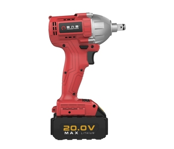 20v Lightweight Electric Brushless Torque Controlled Impact Wrench