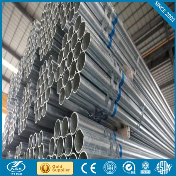 Factroy price galvanized iron scaffolding pipe with CE certificate