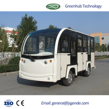 all closed High quality 14 seats electric sightseeing car for sale