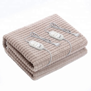 Luxury Soft Comfort Flannel fleece king Size blanket with heater