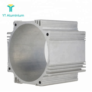 High Quality!! Can be customized Aluminum Profiles Electric Motor heat sink aluminum