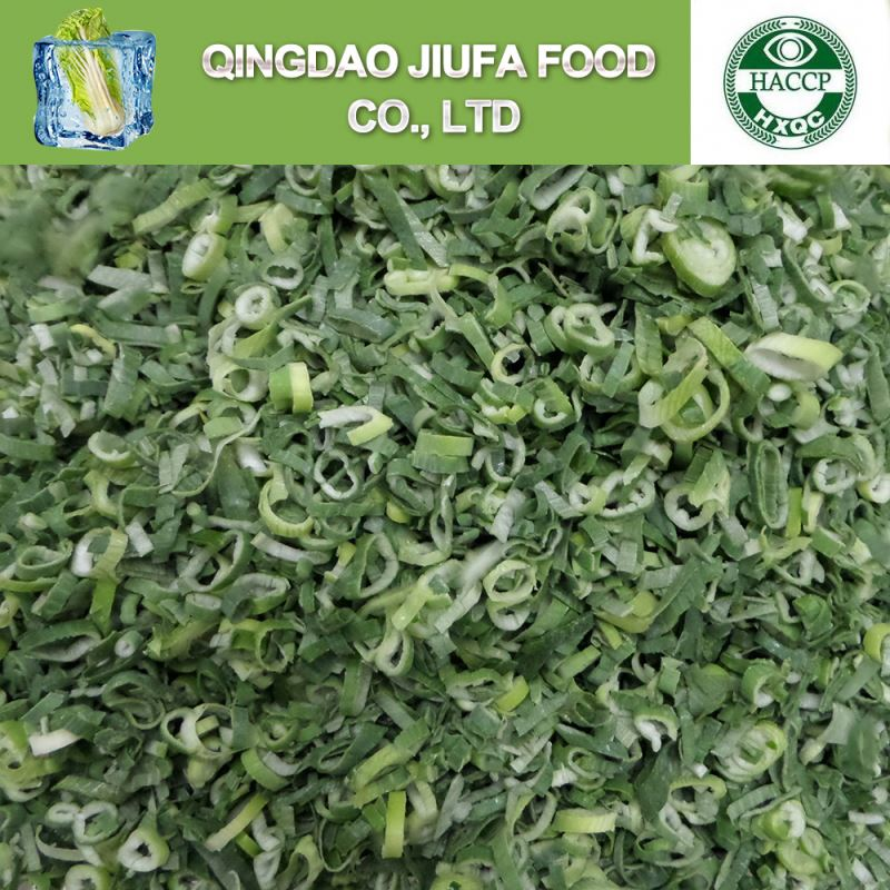 Iqf Frozen Diced Green Onion Deep Frozen Vegetables