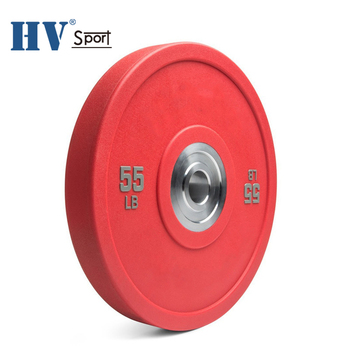 Competition weight plate durable color barbell bumper plate