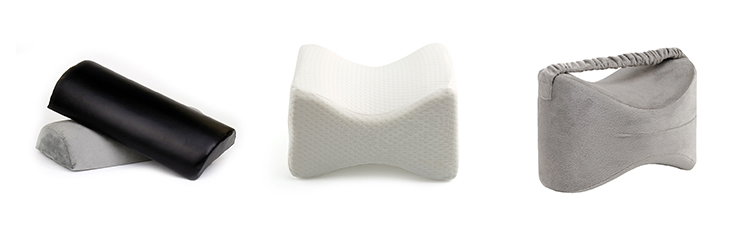 Top Quality Leg Elevation Knee Pillow Easy Carry Orthopedic Knee Pillow For Sciatica Relief