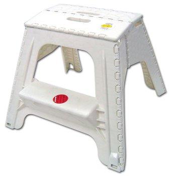 Plastic Portable 2 Steps Folding Step Stool Buy Folding
