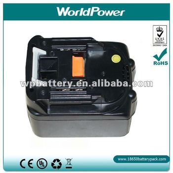 Rechargeable Lithium ion battery pack for Makita BL1430 cordless power tools/drills,Makita 14.4v replacement Batteries/accu/akku