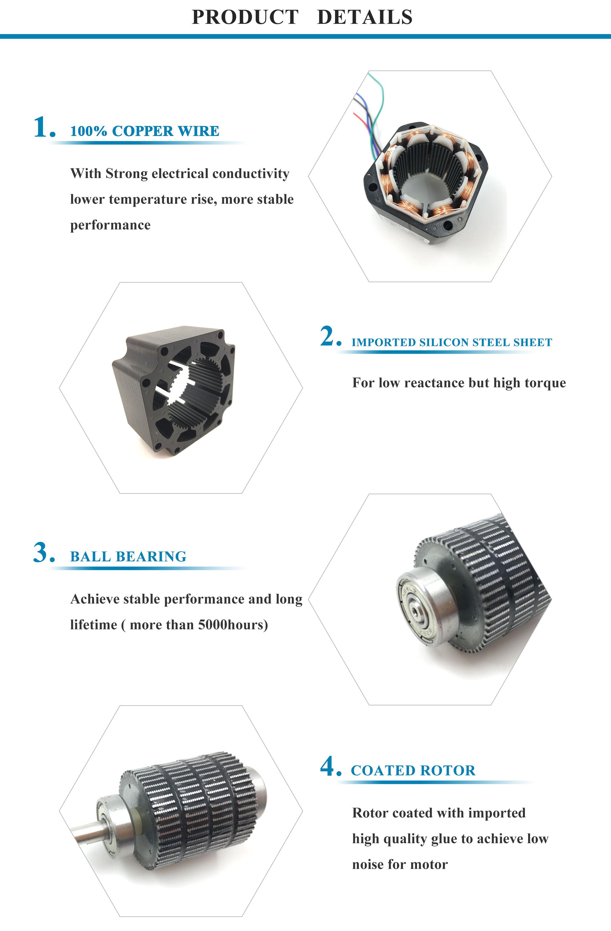 nema 16 1.8 degree china 12v 24v micro bipolar hybrid stepper motor