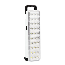 AC 110V 240V Isi Ulang Portabel Mini 30LED 60LED Lampu Darurat, multi-Fungsi Lampu Hand Held LED Emergency Light