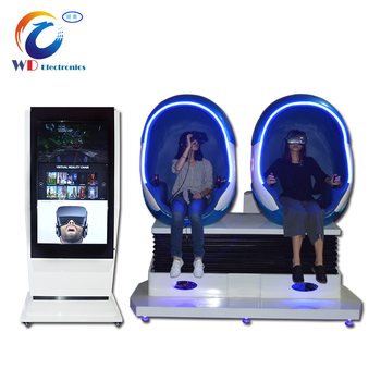 2017 Hot Sale New Project 2 Seats 9D theater/cinema simulator with HTC vive