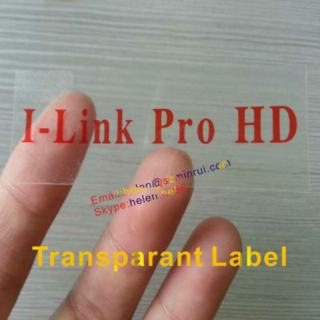 Custom transparent label with your company name printed,self adhesive transparent sticker labels