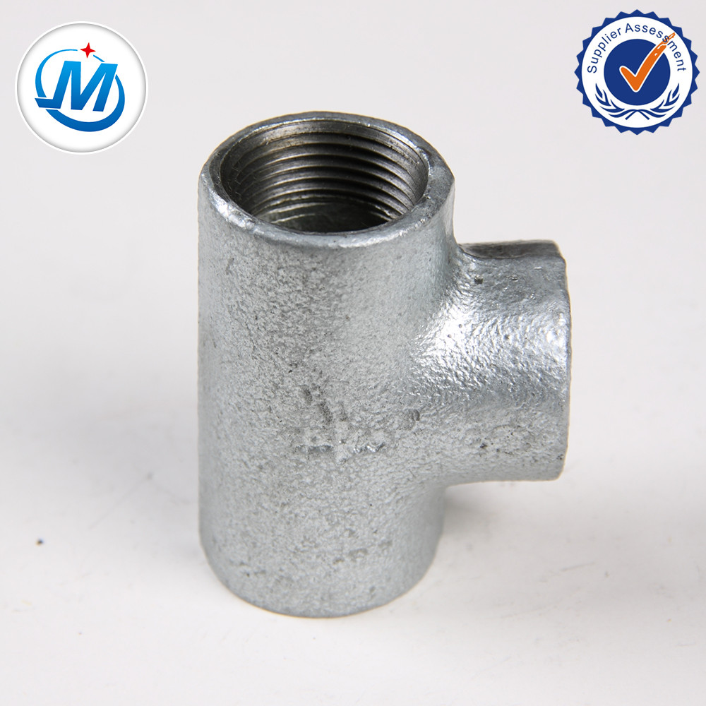 Galvanised malleable Iron Pipe Fittings Tee/GI Tee Pipe Fitting