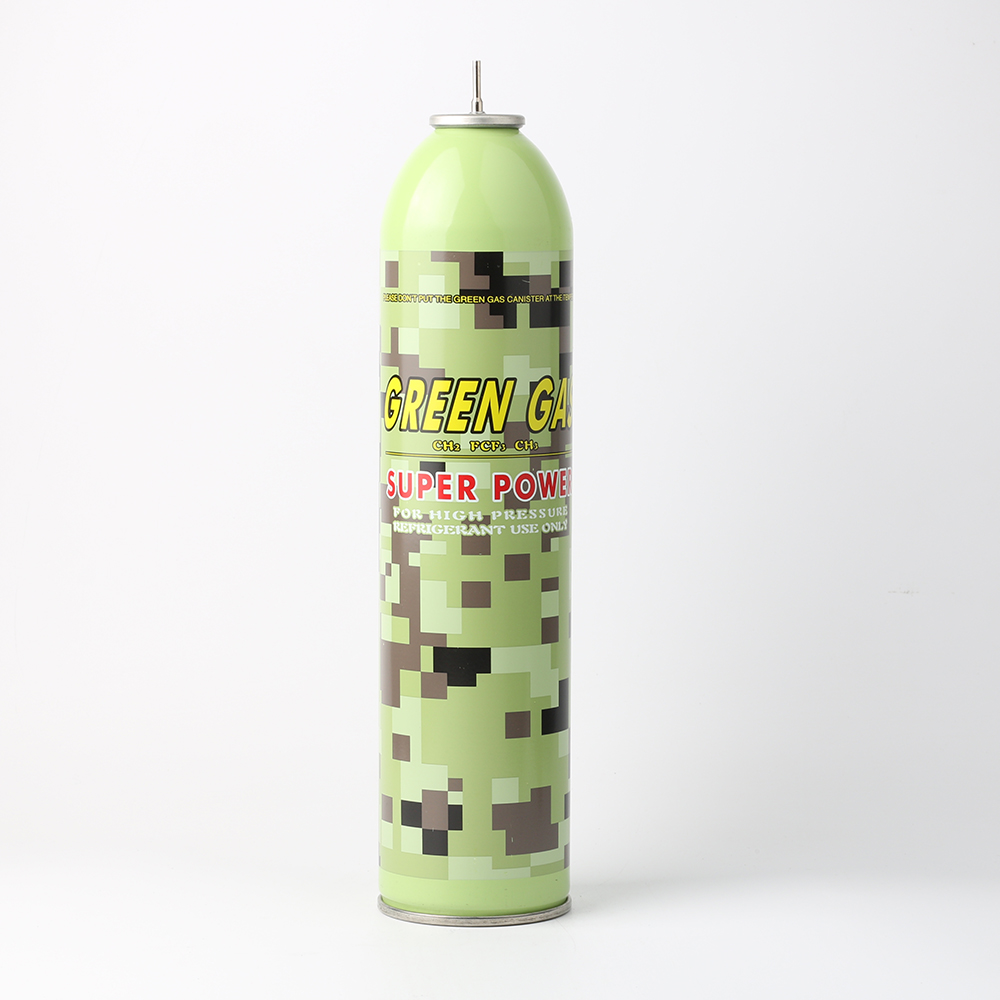 Warwolf marca CFC libre silicona Spray/gas verde