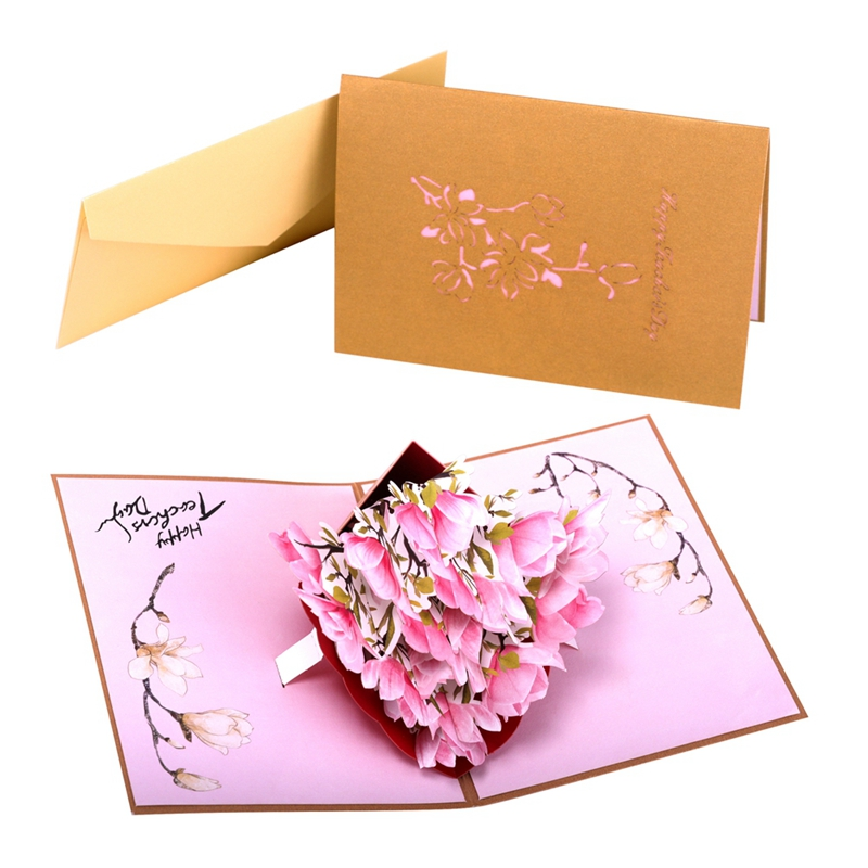 3D Laser Cut Wed Invito carta dell'invito di cerimonia nuziale 2018 Gatefolds di Perla Fiori di carta
