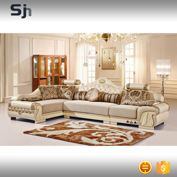 European Style Modern Corner Leather Sofa Sets For B971