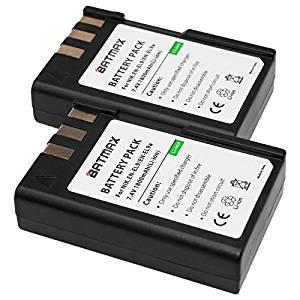 Batmax 2 Pack of EN-EL9, EN-EL9A Batteries(1800mAh) for Nikon D5000, D3000, D60, D40x & D40 Digital SLR Camera Batteries