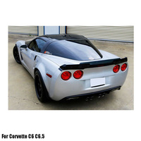 ABS Primer Painted Back Rear Spoiler Lip Wing For Corvette C6 C6.5 All Models 2005-2013 Rear Spoiler