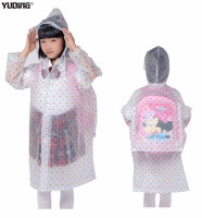 Best Printed Baby Girl Raincoat Cartoon EVA Rain Gear For Kids