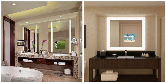 Favorito Specchio Da Bagno Con Tv Dietro Di Esso - Buy Product on Alibaba.com BM71