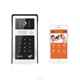 Wifi Video Door Phone Intercom 720P Metal Doorbell Camera RFID Code Keypad Access for Phone