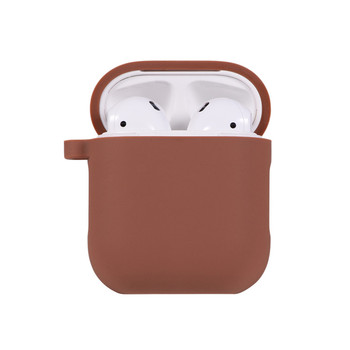 Protective Soft Silicone Case Air pods Shockproof Cover Waterproof Earbuds Case Wireless Earphone Case For Airpods
