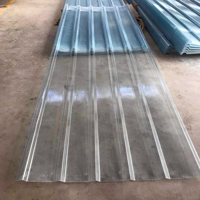 Anti Slip Frp Flat Corrugated Sheets For Wholesale Roofing