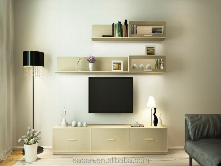 Modern Design Lcd Tv Cabinet Design With Showcase