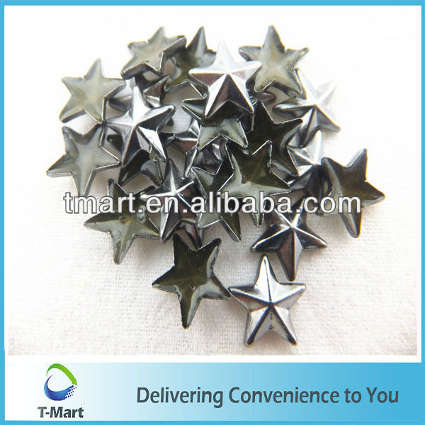 Star studs and spikes with prongs