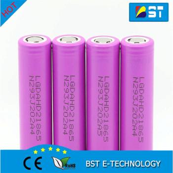 3.7v li-ion LG HD2 ICR18650 2000mah 25A Battery lg dahd 21865 lgdahd2  2000mAh